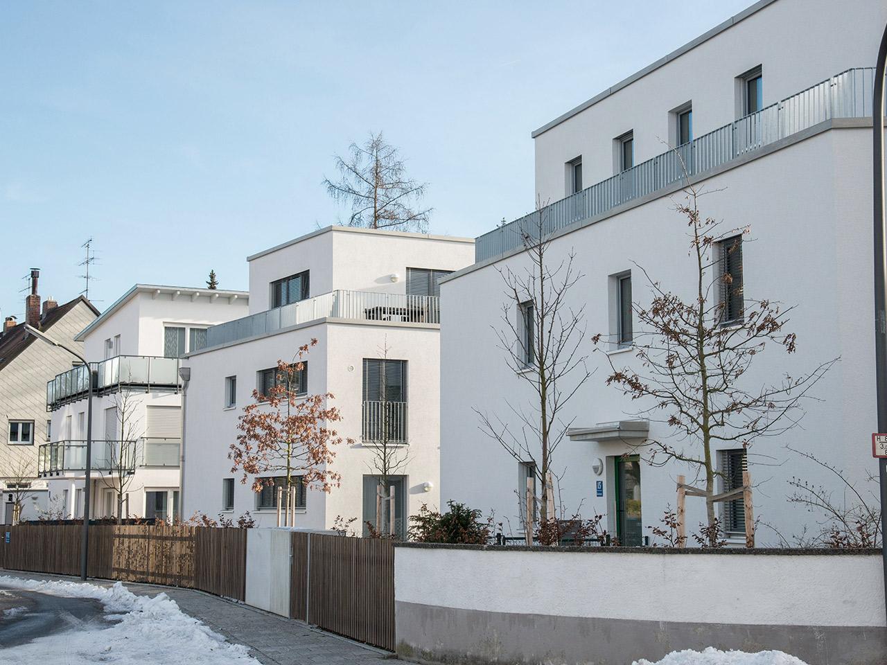 Amalienburgstraße/Badenburgstraße München - Obermenzing